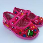 Детские тапочки для девочки Виталия (19-22,5) Код - звездочки маленькие
