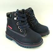 Качественные зимние ботинки для мальчика на овчине бренда Jong Golf (р. 23-27) Код - 263