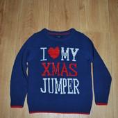 Музыкальный свитер George 4-5 лет