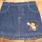 джинсовая юбка S.Btrnard 1.5 года до 2 лет отлично отл.состояние