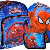 школьный комплект для мальчика Человек Паук + пенал + сумка