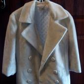 Демисезонный меховый пиджак