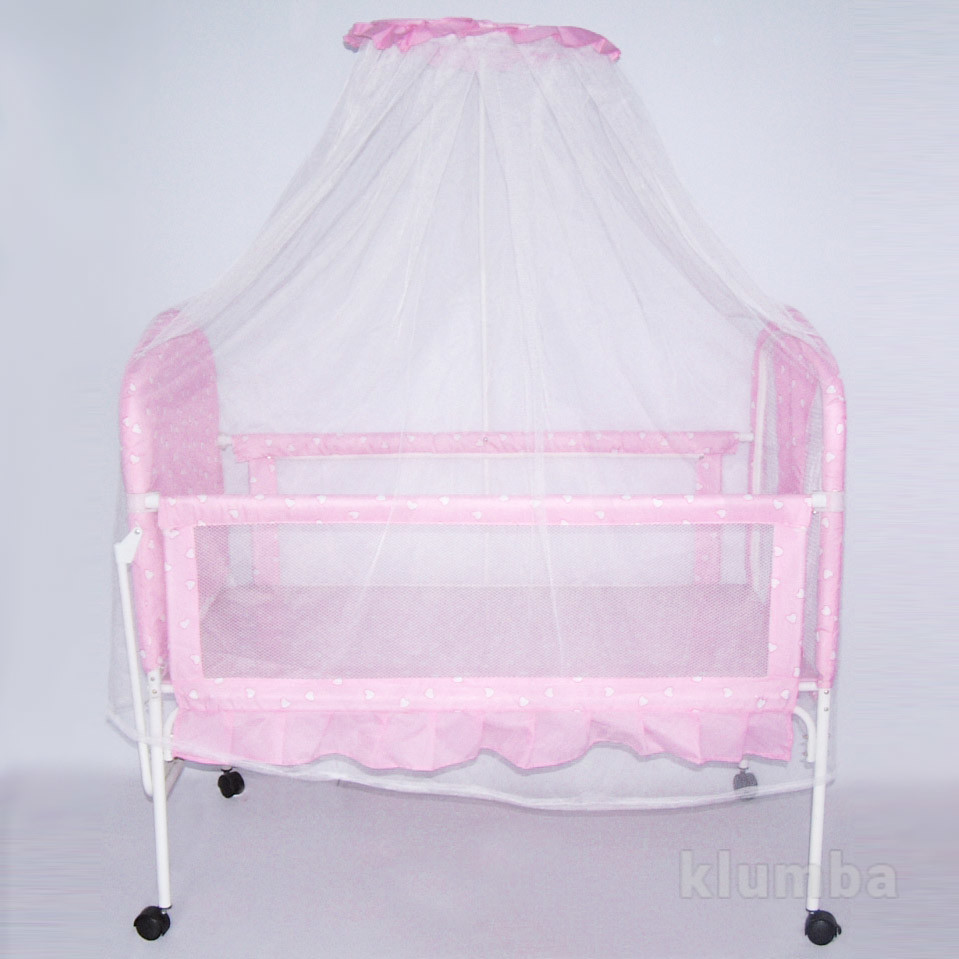 Кроватка 9356 металлическая фото №1