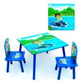 """Акция   Детский столик со стульчиками 466 232 """"Диего"""""""