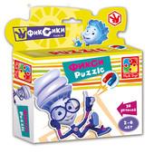 Магнитные пазлы Фиксики А5 20 деталей в коробке влади тойс vladi toys VT1504