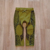 #75. Новые штаники Н&M для мальчика под крокодила, размер 1-2 года. Внутри тоненький флис.