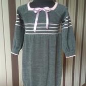 Платье детское вязаное (свяжу на заказ)