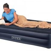 Односпальная надувная кровать  203х102х50см  Intex 66721