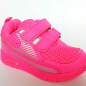 Оригинальные кроссовки для девочки на утолщенной подошве, р. 21-26. Код - 418