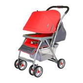 Прогулочная коляска Quatro Caddy Red, красный