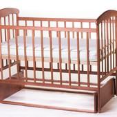 Наталка детская кроватка с маятниковым механизмом