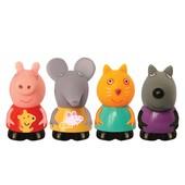 Набор игрушек-брызгунчиков Peppa - Пеппа и её друзья (4 фигурки)