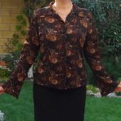 Etam. Лёгкая блузка с длинным рукавом
