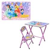 Детская парта разработана специально для маленьких маминых и папиных принцесс. На парте крас