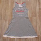 #126. Новое трикотажное платье от H&M для девочки или мамы, размер 14+ лет, рост 170 см.