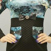 Женское трикотажное платье, в наличии