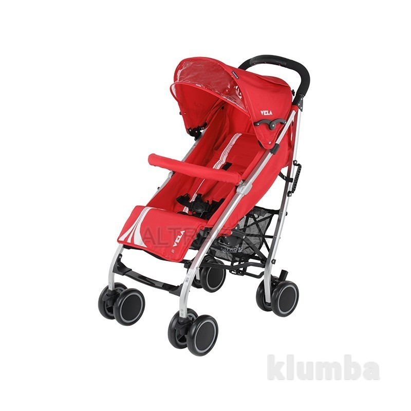Коляска трость Quatro Vela Red, красный фото №1