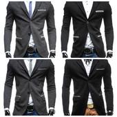 Мужские приталенные пиджаки под джинсы