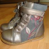 """Демисезонні утеплені черевички """"Шалунишка"""" 24 розмір"""