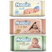 Детские влажные салфетки Huggies хагис алоэ