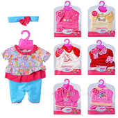 Одежда для пупса Baby Born, Беби борн, вбрання для Бейби бон, зимняя и летняя