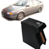 Подлокотник на пассат б3 с вышивкой черный. Предназначены для комфортного управления транспортным ср