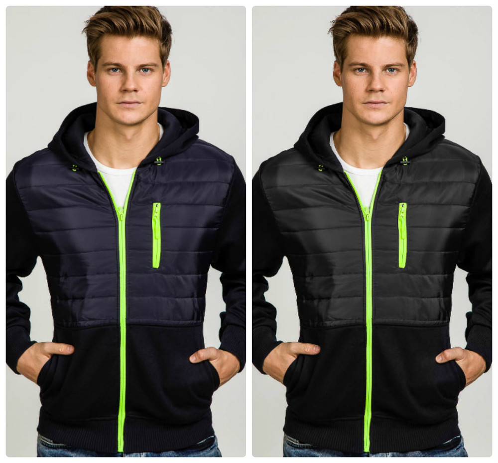 Мужская спортивная куртка ветровка фото №1