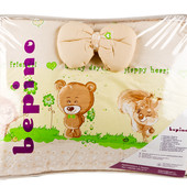 Комплект детского постельного белья бежевое  Bepino