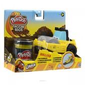 Лепка Машинки для строительства дорог Play Doh 49492 - желтая