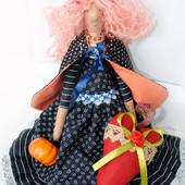 Кукла тильда ′Добрая ведьмочка Анабель′