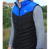 Стильная мужская  жилетка Nike