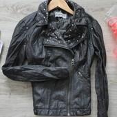 Курточка Clockhouse PU кожа размер 10