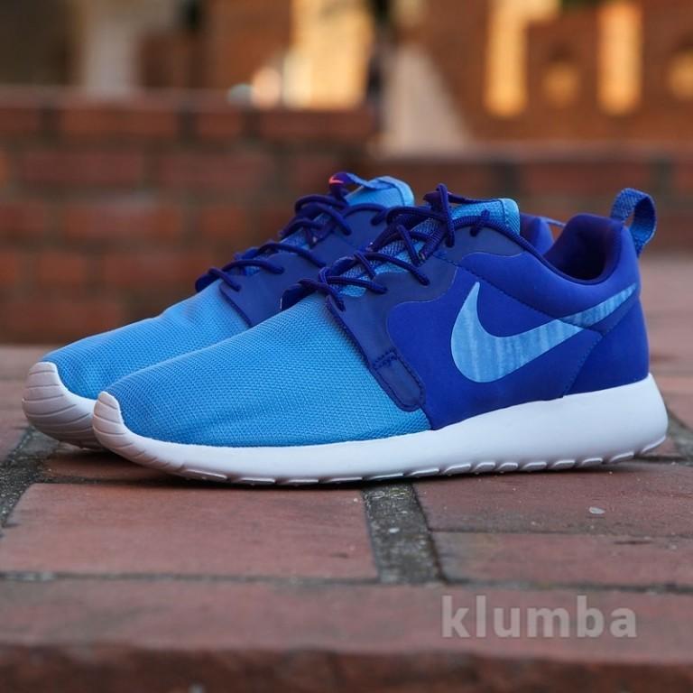 Кроссовки Nike Roshe Run Hyperfuse Blue, р. 40,41,42,43,44 фото №1