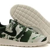 Кроссовки Nike Roshe Run Camo, р. 41,42,43,44