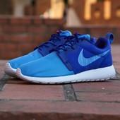 Кроссовки Nike Roshe Run Hyperfuse Blue, р. 40,41,42,43,44