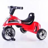 Детский трехколесный велосипед М 5343-5347 Titan. Свет и звук