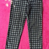 Фирменные брюки микровельвет 8-10 размер