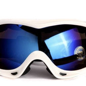 Маска горнолыжная/лыжные очки Spyder Pro с двойным стеклом: белый (White)