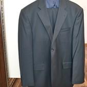 Строгий турецкий костюм 48-50р (рост 175см)!