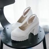 Женские туфли стиль Jeffrey Campbell  на тракторной подошве. Супер модель .Новинка года