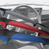 Накладка на торпеду ВАЗ 2107 у тюнінгу на даний автомобіль. Виглядає під обшивку шкірою. 250грн