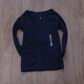 #219. Новый стиляжный реглан с выбитым рисунком и поясочком от Zara для девочки, размер 9-10 лет