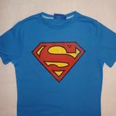продам футболку Superman размер M. 65%полиэстер+35%хлопок.