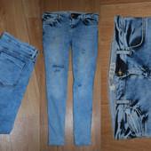 Рваные джинсы Denim skinny C-ка