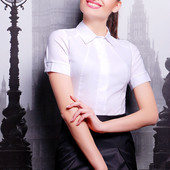 "Женская блуза ""Норма"" с коротким рукавом"