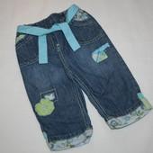 Next крутые джинсы в отлич. сост.для девочки 6-9 мес.