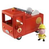 Игровой набор Pерра-пожарная машина Пеппы(машина, фигурка Пеппы)