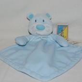 Фирменный комфортер полотенечко салфетка игрушка мишка медведь слюновпитывающее мягкое