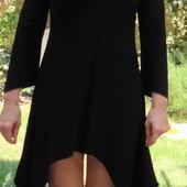 Magna. Трендовое каскадное платье с пайетками