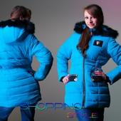 Зимнее пальто для девочки подростка 3 цвета